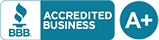 BBB Accredited Business: A+